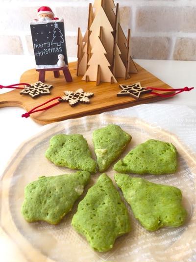 材料3つで作る♪ミラクルツリー☆『モリンガ』ツリークッキー