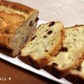 【ダンナ料理】簡単♪バナナとラムレーズンの芳醇パウンドケーキ