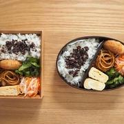 いろいろ弁当、秋鮭の味噌漬け焼き定食