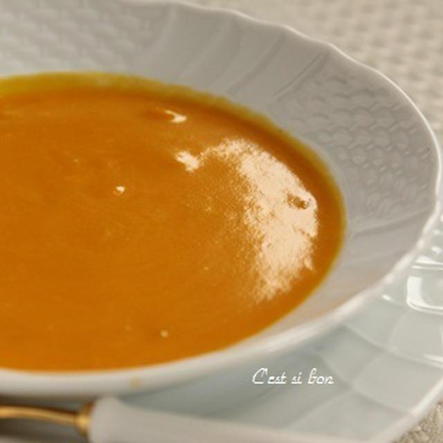 塩麹仕立て♪かぼちゃのポタージュ