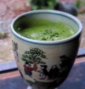 MATCHA Green tea Eggnog 抹茶のエッグノッグ