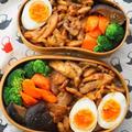 テレビで観た「人参のオイル煮」入り♡鶏のっけ弁当