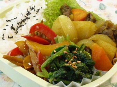 スパイシー肉じゃが☆~果物と野菜のふるさと便