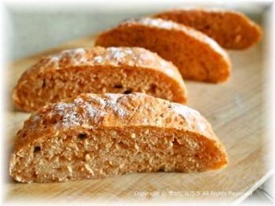 フリーズドライスープで簡単こねないパンと冷製茶碗蒸し