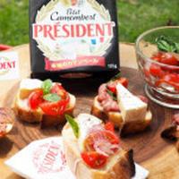 フランス・プレジデント社のチーズで♪カマンベールポテトを作りました