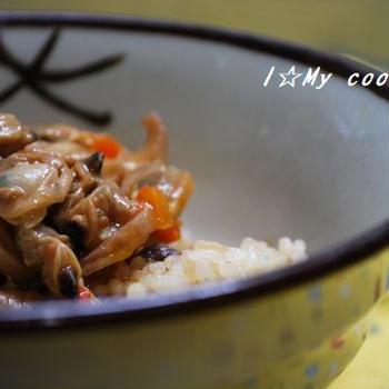 無印良品「あさりと生姜の深川飯」
