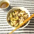 ゴーヤと豚肉のナンプラー炒め丼