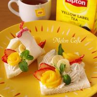 「おにぎらず」の後継めざせ♪その名も『サンドシナイッチ』☆紅茶でひらめきのある朝を♪リプトンひらめき朝食レシピ(その13)