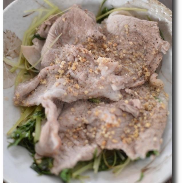 お知らせ 韓国料理を喰らう 水菜と豚肉の大名焼き風