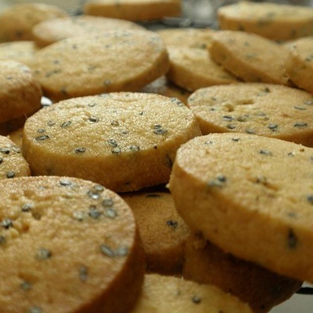 きなこと黒胡麻のクッキー