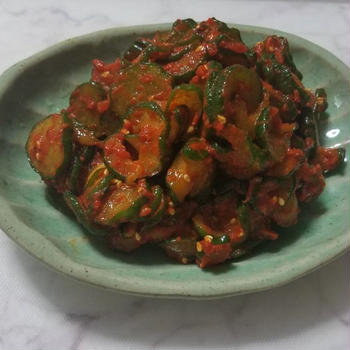 胡瓜キムチ・オイキムチ作り方 -- 超簡単!きゅりのキューちゃん味のコリコリ食感