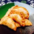 缶詰カニ肉のネギチーズ揚げ by 豊田  亜紀子さん