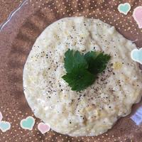 大豆イソフラボンたっぷり^_−☆ソイミルクチーズリゾット