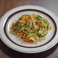 ダイエット食材で和えた 鶏むね肉ときゅうりのひんやり中華サラダ