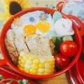 豚ロースの生姜焼きのっけ弁当〖 普通弁当〗&作ってくださいました by とまとママさん