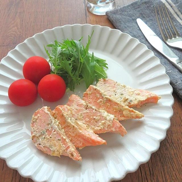 簡単☆お弁当にも◎鮭のマヨハーブ焼き