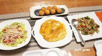 ●モニプラ●オイスターソース極とがらあじ極鶏ガラスープで中華ディナー♪