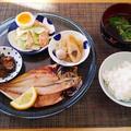 おかずが多めになるのは勿体無いお魚の食べ方で・・・かにかまの山葵風味サラダ♪・・♪