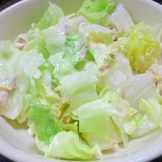 超簡単☆ちぎりレタスシーチキンサラダ
