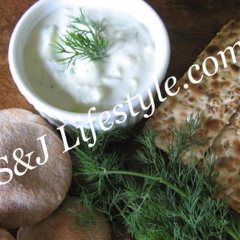 ギリシャのヘルシーディップ、タヅキソース