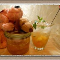 【ミント香るフルーツビネガー】ゴールドキウイとレモンでビタミン豊富