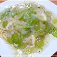 【農家のレシピ】セロリのみぞれスパゲティ  ~喉の痛み、咳に効果のある果物と野菜~