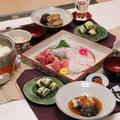 ★ 鶏みそ湯豆腐・お造り・太刀魚あんかけ