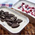 オレオチーズケーキde絶品アイスケーキ♡-簡単*お菓子*アイスクリーム