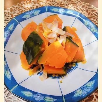 【かぼちゃのコンソメ煮】