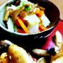 白菜となめたけの和え物