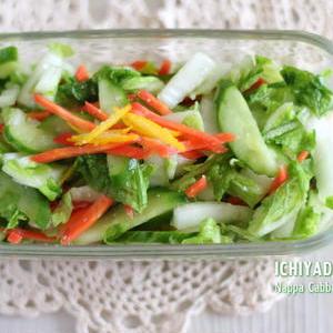 作ってすぐ食べられる!「白菜の浅漬け」レシピバリエ