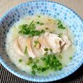 しょうがたっぷり身体が温まるおひとりさま鶏むね肉の中華粥