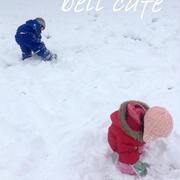 週末の大雪!そして今年初の雪遊び