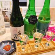 現在亀泉フェア開催中、浅野日本酒店kyotoさんで一献