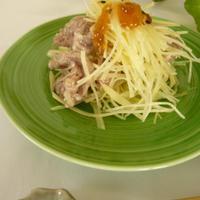 ★ジャガ牛サラダ(のっけてジュレコンソメ)