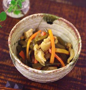 懐かしい給食の味♪ 茎わかめの炒め煮☆