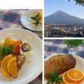 昨日の講座無事終了です〜お料理もバウンドケーキも満足の出来です・今朝の富士山