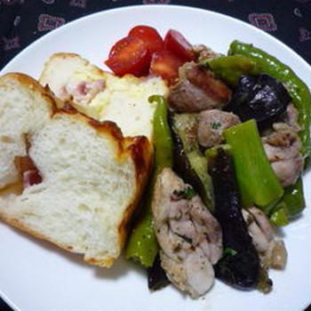 652 : チキンと野菜のマジックソルト焼き