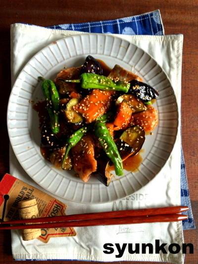 【簡単!!魚レシピ】鮭となすの照り南蛮だれ