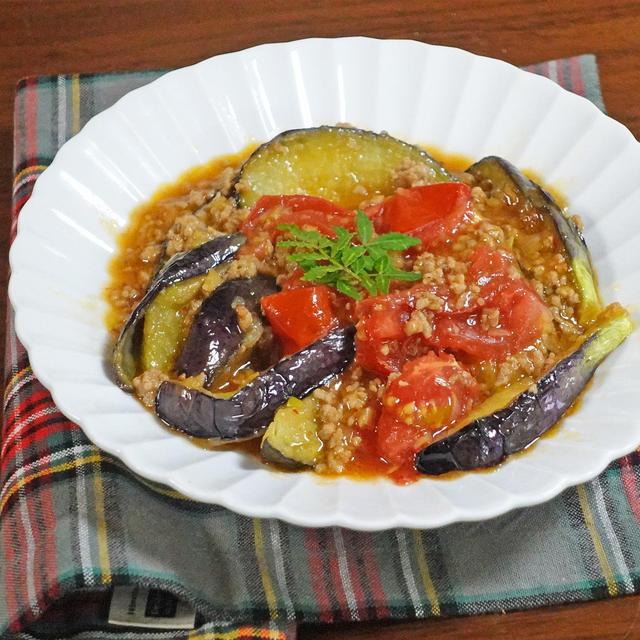 瑞々しさ倍増!とろとろ水茄子とトマトの麻婆レシピ