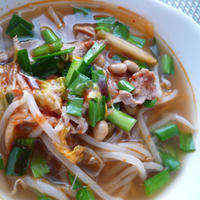 暑い日こそコレ! 納豆キムチスープ