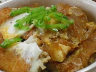 高野豆腐のカツ丼と実家の紫陽花