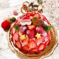 2019クリスマス☆ …まさかの?(笑)残り物でOK!クリスマスケーキ♡ by あっ君ママ♪さん