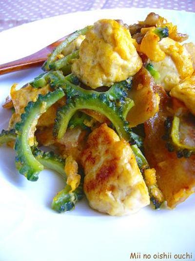 沖縄の家庭料理♪ゴーヤチャンプル