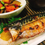 簡単焼き鯖寿司