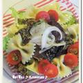 カツオのバジル風味マリネ★パスタサラダ仕立て♪子育てスタイル掲載 by naonao♪さん