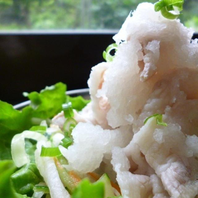 レシピ☆白雪豚しゃぶ