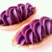 紫芋のタルト by anさん