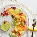 キウイときゅうりのおろしドレッシング カルパッチョとサラダ by 青山 金魚さん