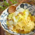 お揚げさんと白菜のあっさり煮*クーピーとクレパスと・・ by Mayu*さん